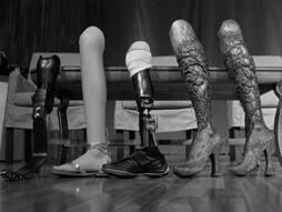 Aimee Mullins 12 Pairs of Legs